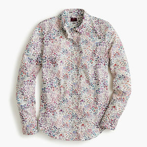 NWT J.Crew | Slim Perfect Shirt in Liberty print